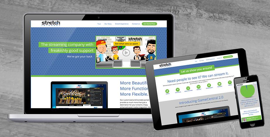 Stretch Internet website